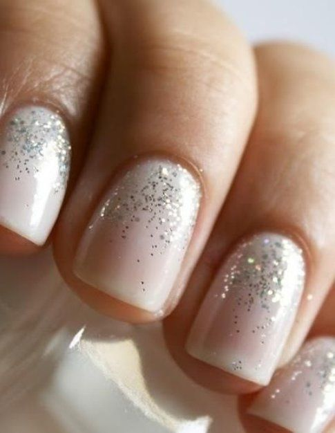Nail art glitter -Pinterest Found on indulgy.com