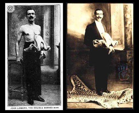 """Jean Libbera, """"L'uomo dal doppio corpo"""""""