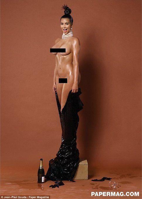Kim Kardashian per Paper Magazine
