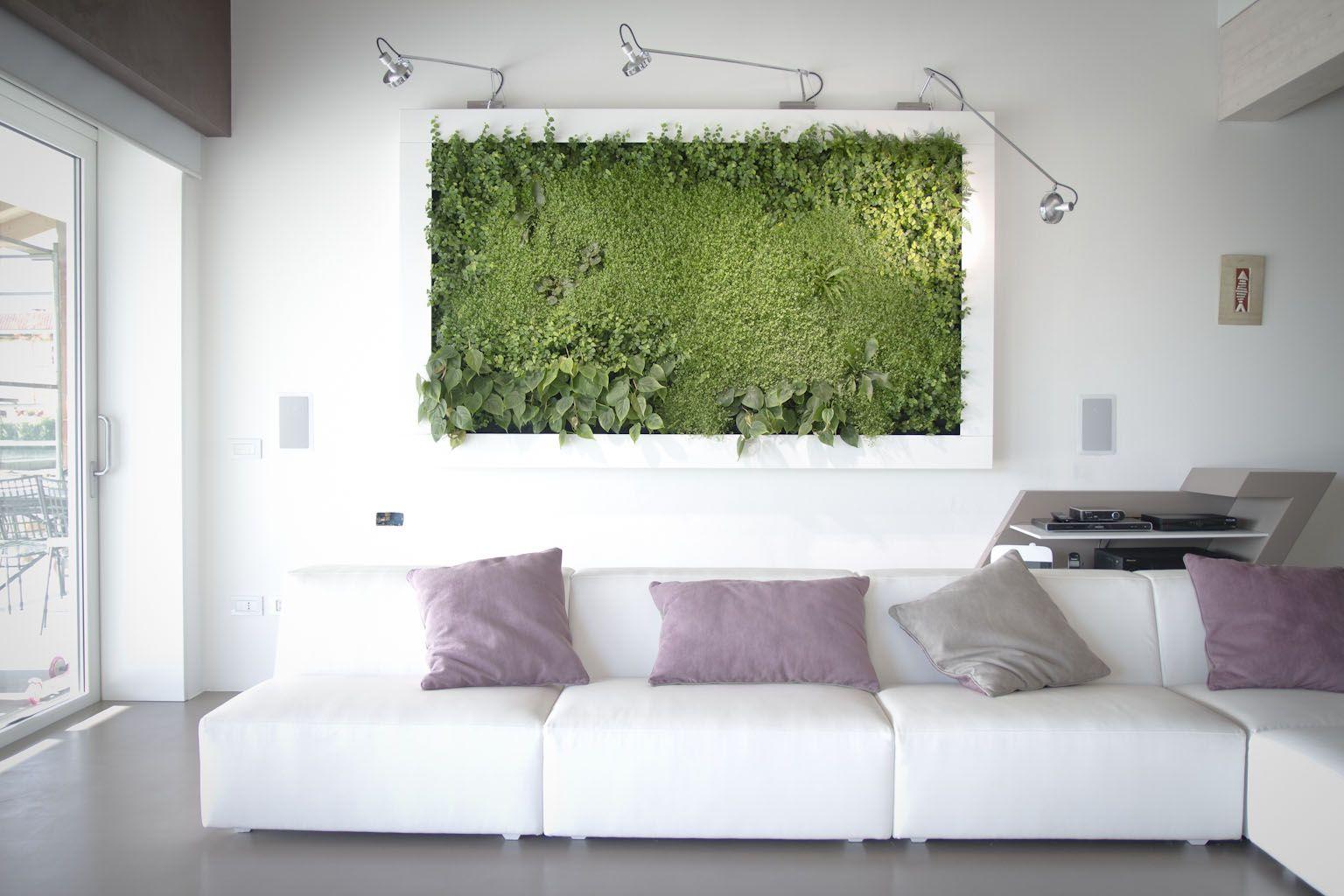 Natura da appendere: quadri vegetali e installazioni di feltro