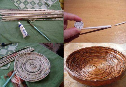 DIY Tutorial ciotole fatte in casa - Foto: Pinterest