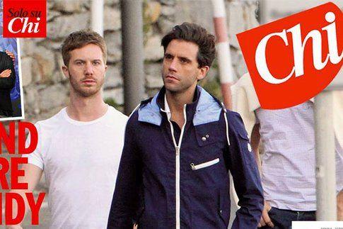 Mika e Andreas Dermanis fonte: Settimanale Chi