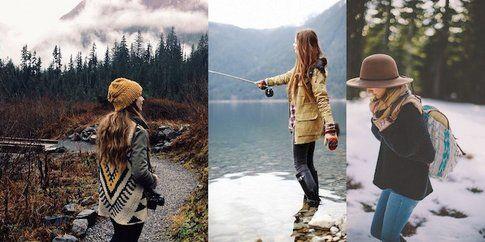 Per l'inverno scegli capi tecnici e poi vestiti a strati, questo è il segreto! fonte: pinterest