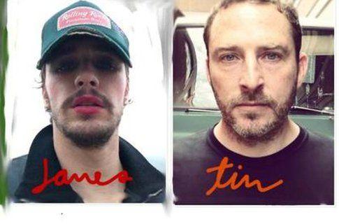 James Franco e Tim O'Keefe - Foto soundcloud.com