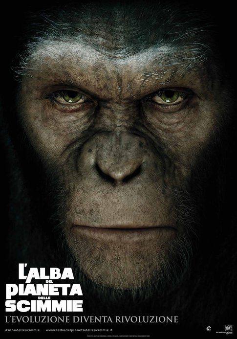 """Locandina de """"L'alba del pianeta delle scimmie"""" - foto Movieplayer.it"""