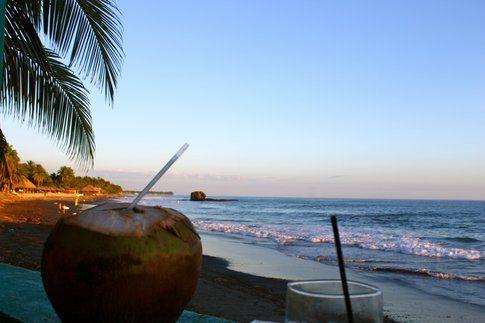 Post surf, in Playa Tunco