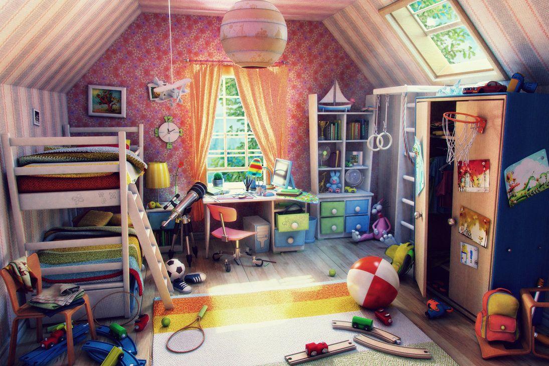 La cameretta dei bambini: alla ricerca della bellezza perduta