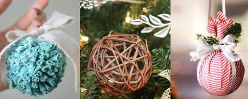 Palline di Natale fatte in casa - fonte Pinterest.com