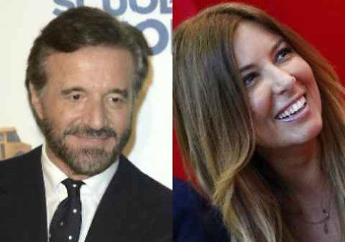 "Christian De Sica vs. Selvaggia Lucarelli: ""È una mezza calza"""