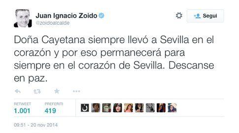Twitter - Juan Ignacio Zoido