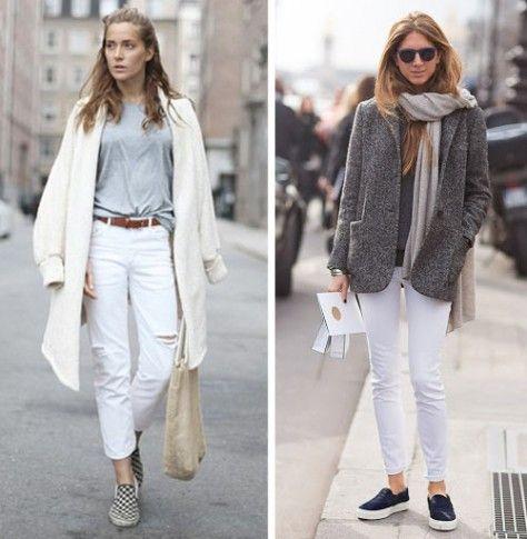 ea1fa55542f6 Pantaloni bianchi  10 modi per indossarli in inverno