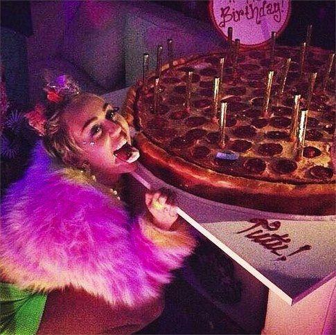 Miley Cyrus - Foto Instagram