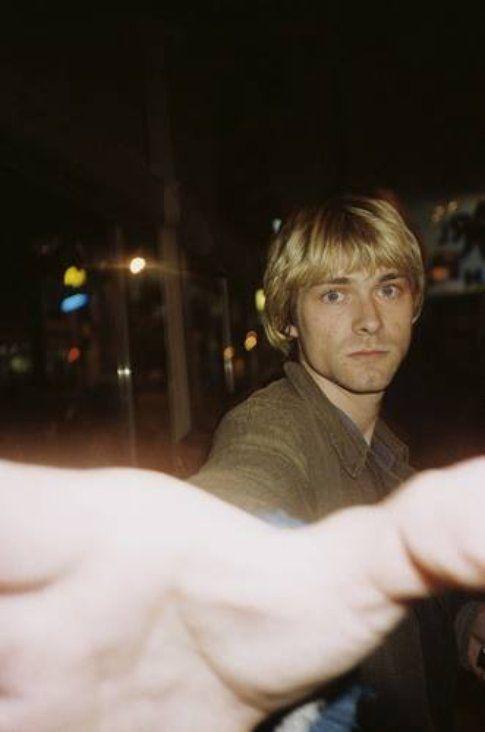 Kurt Cobain - foto Facebook Nirvana