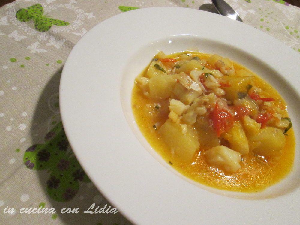 Baccala in umido e patate ricetta
