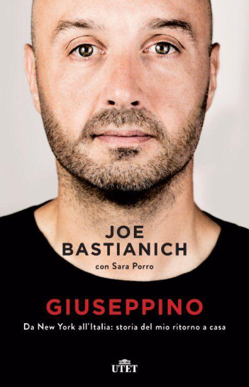 Cover libro Joe Bastianich - immagine da ufficio stampa MARA VITALI COMUNICAZIONE