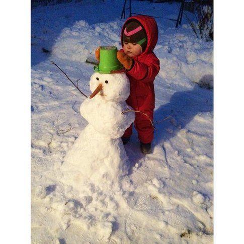 Pupazzo di neve - Foto: bizzetta su Iconsquare