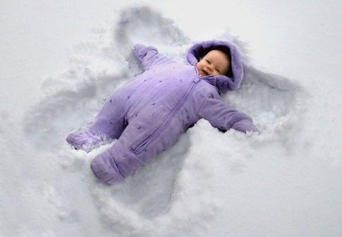 Bimbi a Natale - Foto: Pinterest
