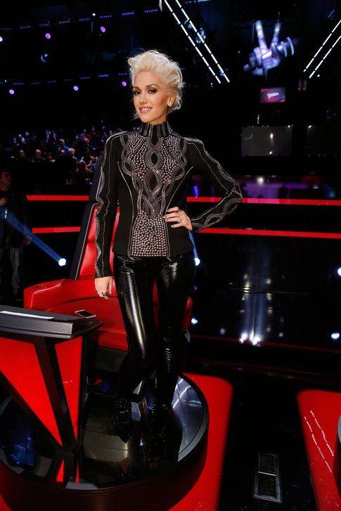 Gwen Stefani a The Voice - foto via sito Gwen Stefani