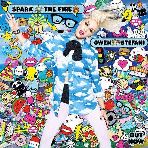 Copertina del singolo Sparked Fire - foto via sito Gwen Stefani