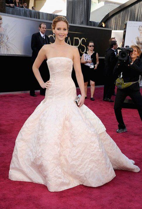 Jennifer Lawrence agli Academy Awards 2013