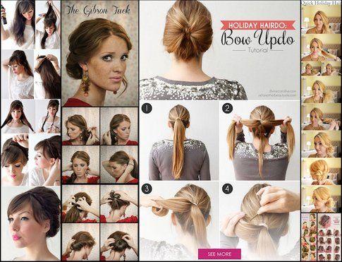 Raccolti -Fonte: divinecaroline.com topinspired.com diycraftsproject.com welke.nl hairstyle-haircut.com