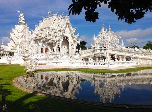 Il White Temple a Chiang Rai - foto di Elisa Chisana Hoshi