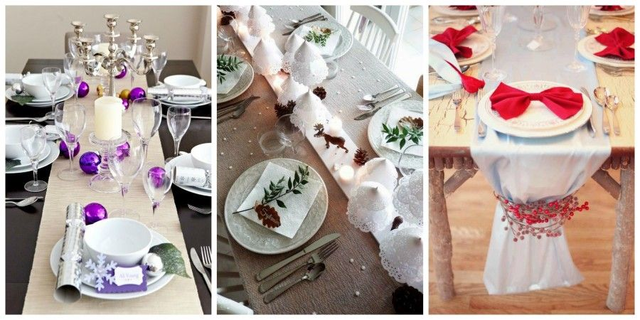 La tavola di natale come decorarla con stile bigodino - Addobbare la tavola per natale ...