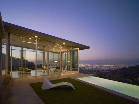 The Skyline Residence. Los Angeles. Progetto: Belzberg Architects