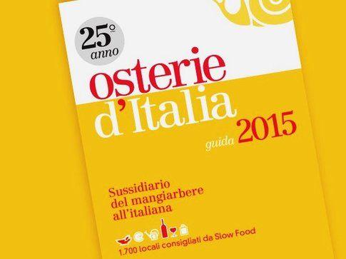 Osterie d'Italia 2015 - di M. Bolasco, E. Signoroni - Slow Food Editore