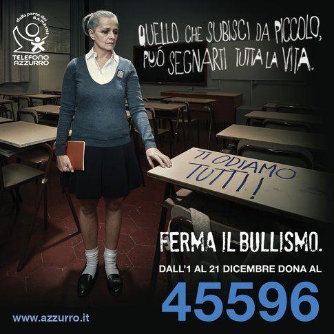 Telefono Azzurro e la campagna contro il bullismo