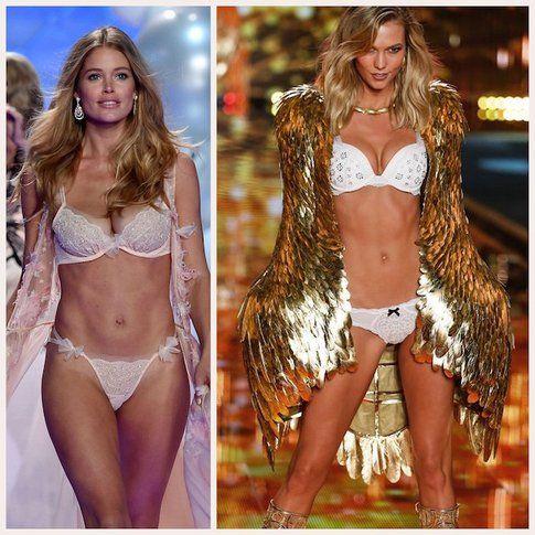 """2 """"Victoria's Secret Angels"""" dell'ultimo fashion show di Londra!"""