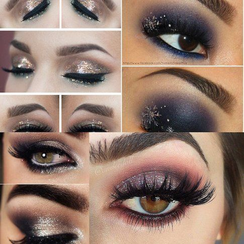 Christmas Make-up - fonte : pinterest