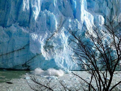 Il ghiacciaio vive