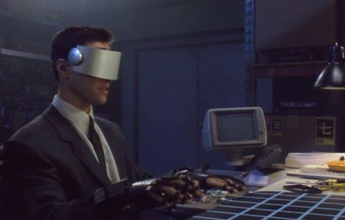 "Riaddattamento del racconto di William Gibson ""Johnny Mnemonic"", 1995 (Ingrid Richter on Flickr)"