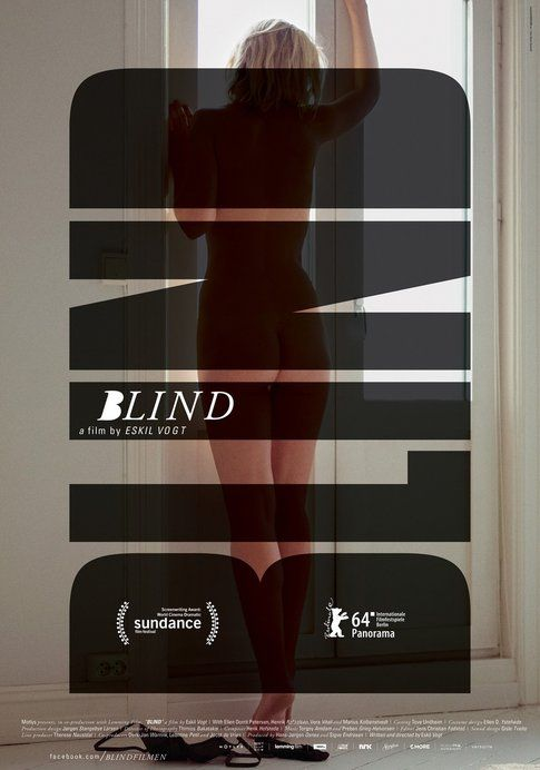 Blind. Theatrical One-Sheet poster Silver