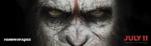 Dawn of the Planet of the Apes. Billboard Silver