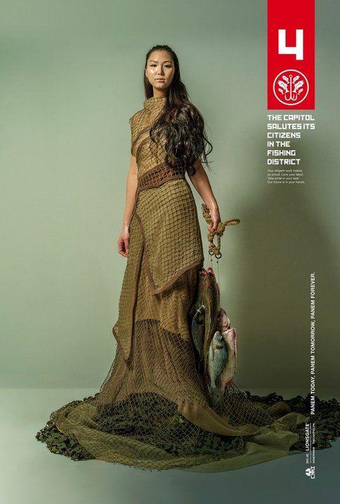 "The Hunger Games: Mockingjay Part 1. ""Fishing"" One-Sheet"
