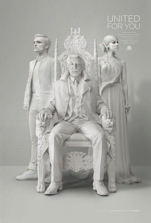 "The Hunger Games: Mockingjay Part 1. ""Snow Propaganda"" One-Sheet"