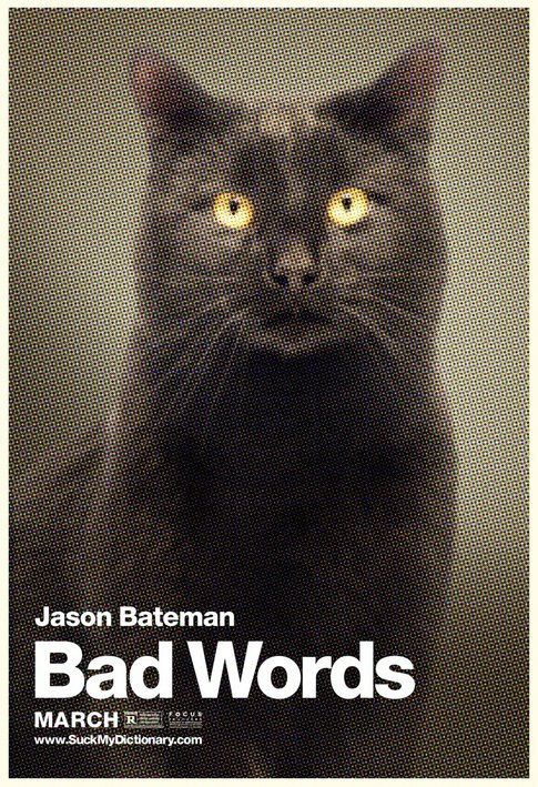 Bad Words. Animal Online Banners - Cat