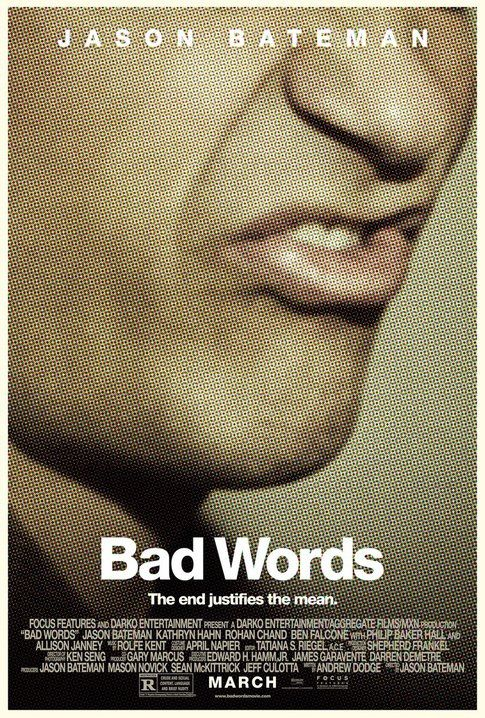 Bad Words. Domestic One-Sheet Gold