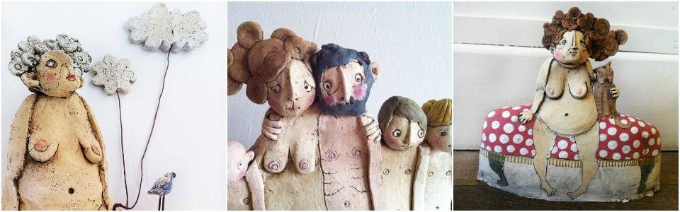 Emily Rowley: ritratti di famiglia in ceramica