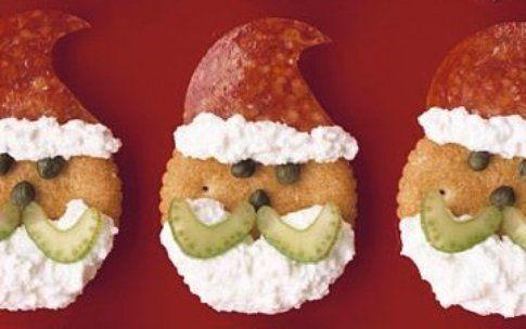 Babbo Natale snack salati