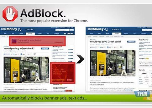 adblock sullo store Google Chrome