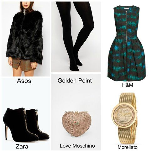 Outfit chic per Natale