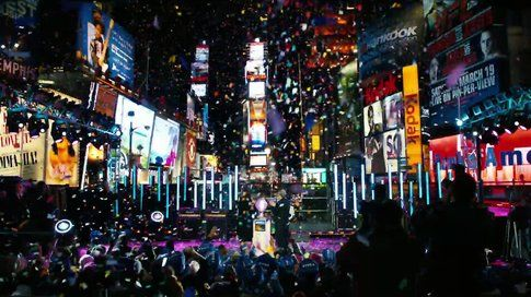 Una scena da Capodanno a New York - foto Movieplayer.it