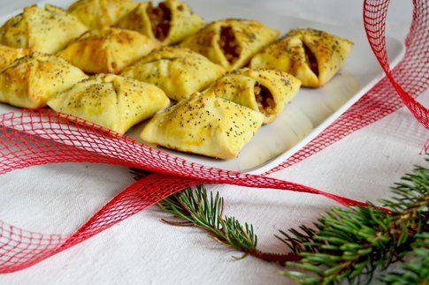 Fagottini con lenticchie e gamberi. Ricetta e foto di Roberta Castrichella.