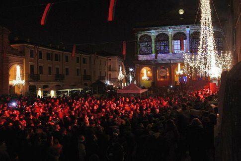 Capodanno a Rimini in piazza Fellini