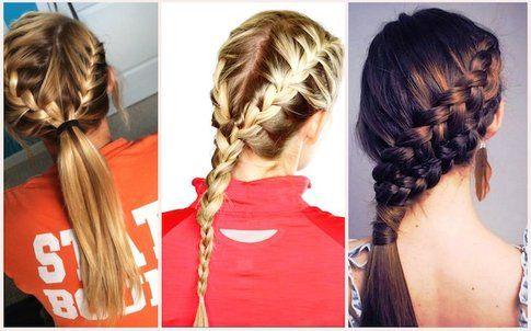 Trecce per tenere i capelli in ordine anche sotto il casco  - Fonte: stylecraze.com, pophaircuts.com, byrdie.com