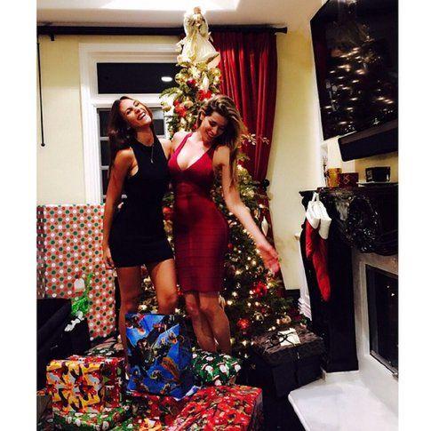 Aida Yespica insieme ad una amica – Instagram