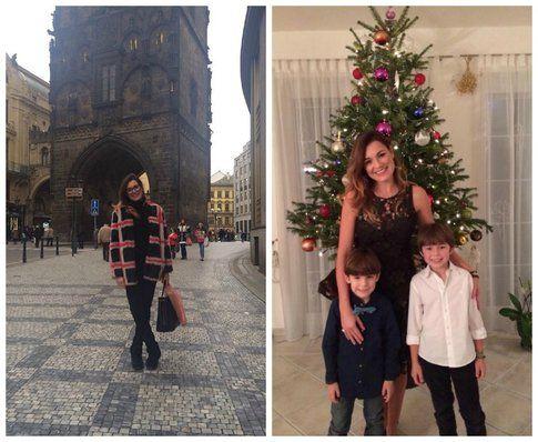 Alena Seredova – foto dalla pagina personale Facebook